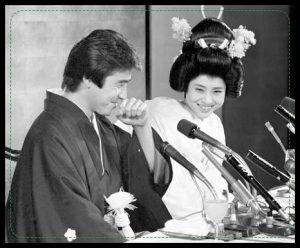 神田正輝、松田聖子、結婚式
