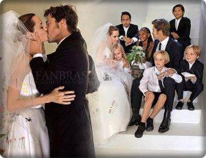 アンジェリナジョリー、ブラッドピット、子供たち