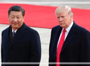 習近平とトランプ大統領