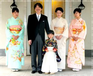 秋篠宮様、ご家族