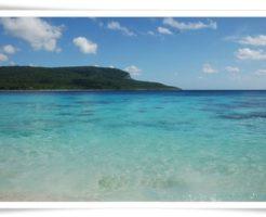 東ティモールの海