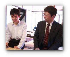 杉本七段と藤井聡太