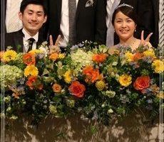 上田仁と嫁